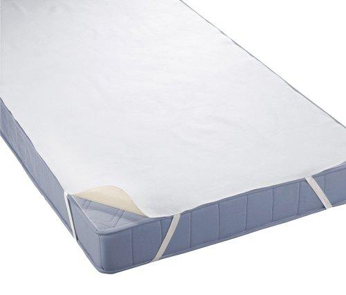 biberna Sleep & Protect 0809600 Silver Protect Molton Matratzenauflage (blut-, urin- und wasserundurchlässig) antibakteriell 200x200 cm
