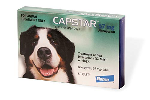 Capstar Flea Treatment Tablet for Medium and Large Dogs 6 Pack