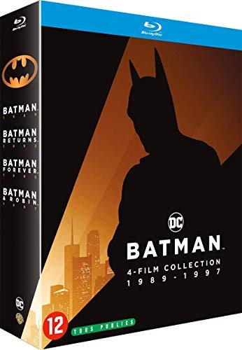 Batman-4 Films Collection 1989-1997 [Blu-Ray]