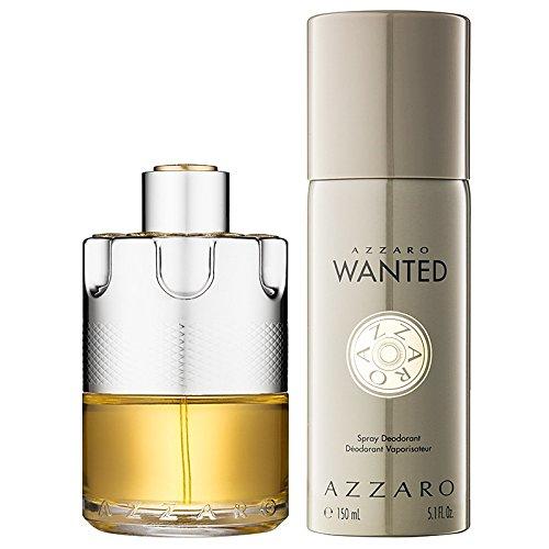 Azzaro Wanted Geschenk-Set für Männer Eau de Toilette 100ml + Deo Spray 150ml
