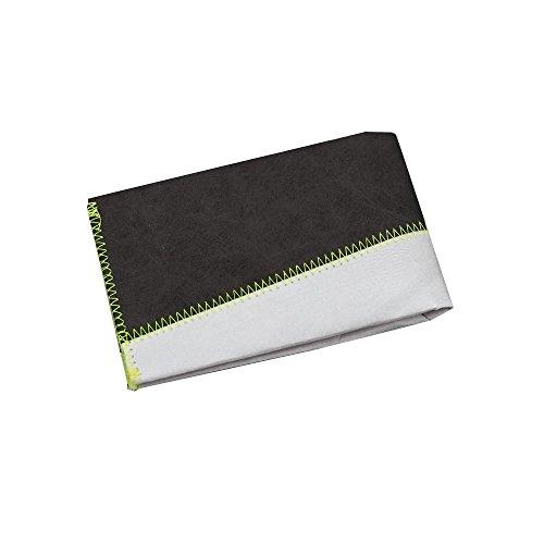 Paprcuts Portemonnaie (Big) - Grau/Anthrazit: Ultraleichte Geldbörse mit Münzfach - reißfest, wasserfest, recyclebar