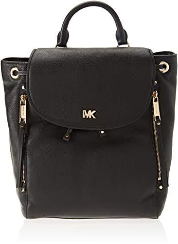 Michael Kors Backpack, Mochila para Mujer, Negro (Black), 15x10x5 cm (W x H x L)