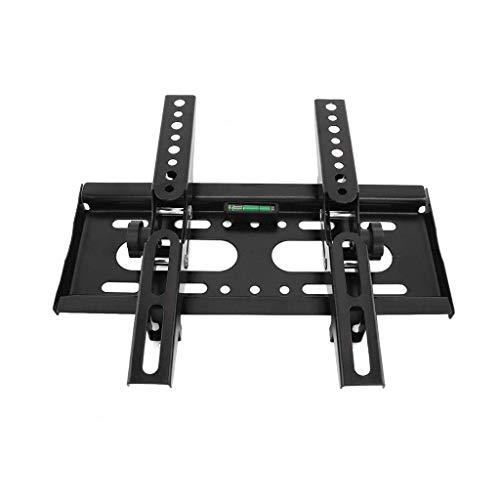 Universal 25kg Adjustable TV Wall Mount Bracket Flat Panel TV Frame Support 15 deg; Tilt With Level For 14-42 Inch LCD LED Monitor WTZ012