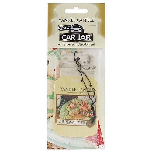 YANKEE CANDLE 1020383E Christmas Cookie Car Jar