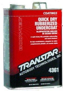 Transtar Quick Dry Rubberized Undercoating, Gallon 4361-F