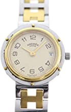 [エルメス]HERMES クリッパー腕時計 CL4.220 シルバー ステンレススチール レディース 中古