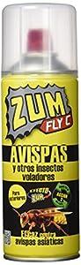 Zum Fly C - Avispas y otros insectos voladores - Insecticida para exteriores - 400 ml - [Pack de 3]