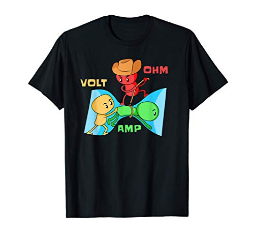 Elektriker Physik Elektroniker - Elektrizität Erklärt T-Shirt