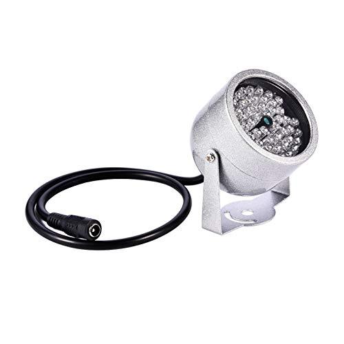 WNSC Iluminador de Infrarrojos de Seguridad, luz infrarroja de 48 LED, luz infrarroja de cámara, Sistema de Seguridad para el hogar de estacionamiento para el hogar