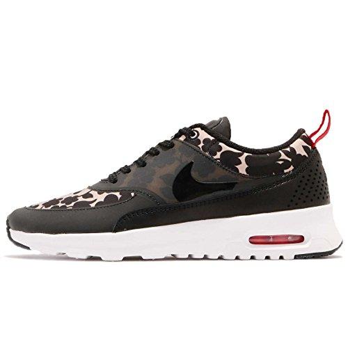 Nike Damen WMNS Air Max Thea LIB QS Turnschuhe, Rosa (Vachetta Tan/Black-Lt Crmsn-Sl), 38.5 EU