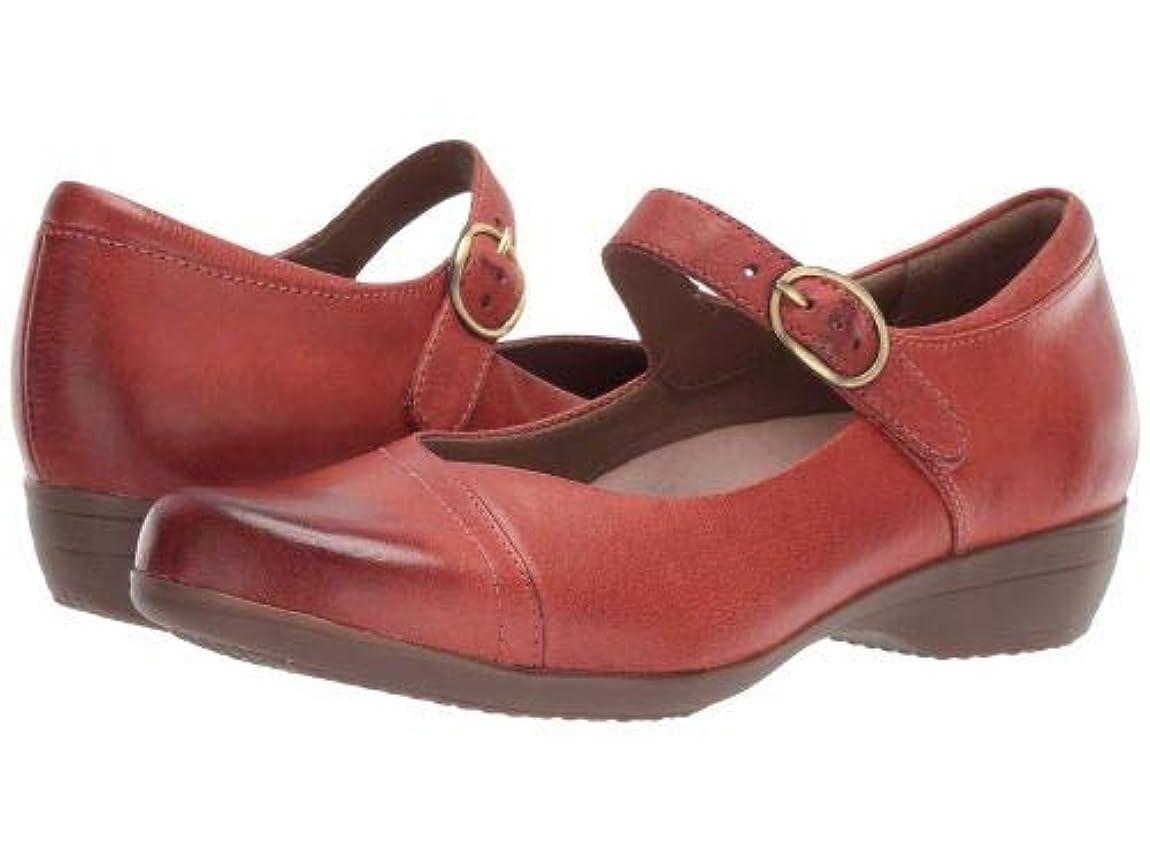 祈る詩人ブリーフケースDansko(ダンスコ) レディース 女性用 シューズ 靴 フラット Fawna - Coral Burnished Full Grain [並行輸入品]