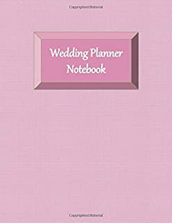 Wedding Planner Notebook: Ultimate Planning Helper - Gender Neutral - Checklists - Aide Memoir Sheets - Pink LGBT Cover - Venue - Budget - Catering - Contact Sheets - Countdown Prompts