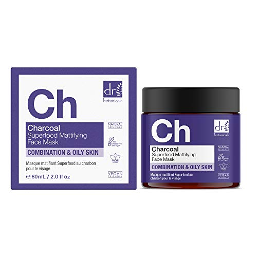 The Apothecary Collection by Dr. Botanicals Charcoal Superfood Mattifying Face Mask 60ml