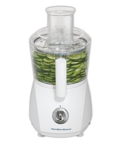 Hamilton Beach 70610 500W Blanco - Robot de cocina (Blanco, Giratorio, De plástico, Acero inoxidable, 500 W): Amazon.es: Hogar