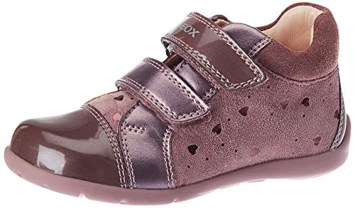 Geox Baby-Mädchen B Kaytan B First Walker Shoe, (Dk Pink), 24 EU