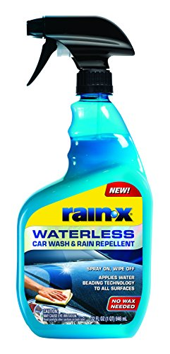 Rain-X 620100 Waterless Car Wash and Rain Repellent, 32 fl. oz.