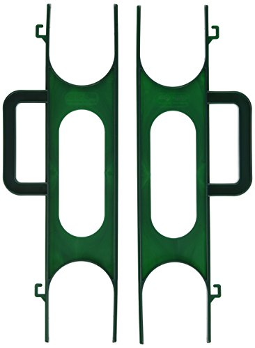 Ruco V726 lumière Enrouleur de chaînes, Lot de 2, Plastique, Vert, 39 x 13 x cm