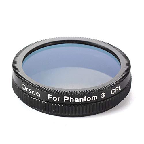 XUSUYUNCHUANG-HAT CPL MRC UV ND4 ND8 ND16 ND32 ND64 ND2-400 Filter für DJI Phantom 3 Phantom 4 Pro für Zenmuse X5 Forzenmuse X3 Inspire 1 Drohnenzubehör (Caliber : MRC ND64, Color : for Phantom 3)