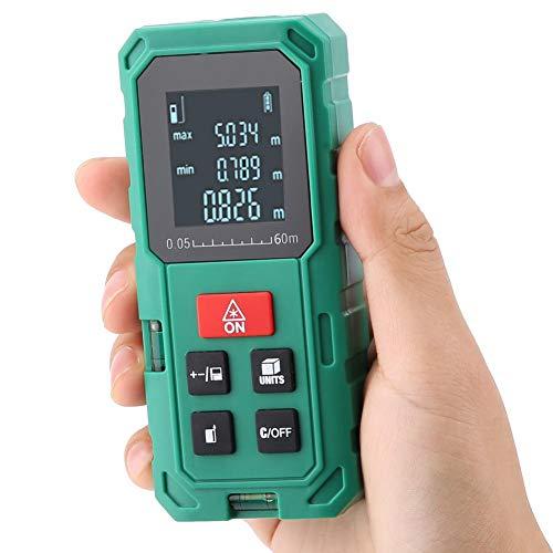 Telémetro de láser digital, Medidor de distancia de telémetro digital de láser Láser Telémetro de rango Medición de distancia de cinta(S60)