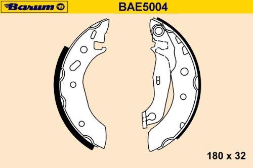 Barum BAE5004 KIT DE SEGMENT DE FREIN ET INSTALLATION