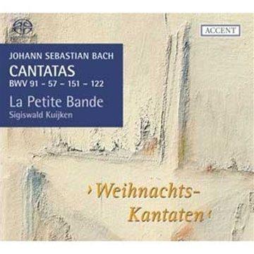 Bach: Cantatas, Vol. 14 (Bwv 91, 57, 151 Y 22) / La Petite Bande - Kuijken