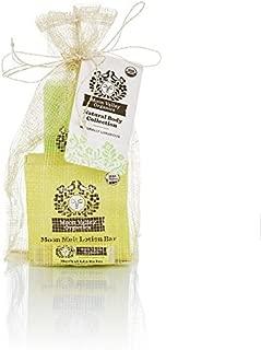 Moon Valley Organics Gift Set with Moon Melt Lotion Bar, Lip Balm & Eczacalm