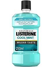 غسول الفم من ليسترين بدون كحول بنكهة النعناع الخفيف, 3574660666144 , , 250ml, ,