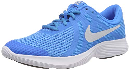 Zapatillas/NIKE:NIKE Revolution 4 (GS) 39 Azul