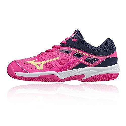Mizuno Break Shot EX CC - Scarpe Tennis Donna - Women's Tennis Shoes - 61GC172645 (EU 38)