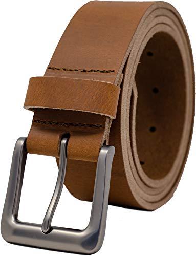 Ashford Ridge Män 38 mm full gömma äkta läderbälte för jeans