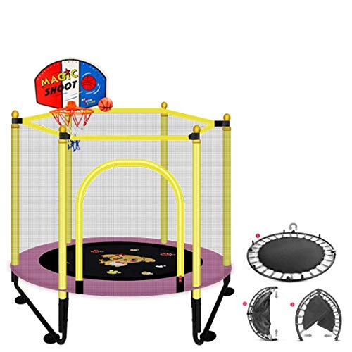 LuoMei Small Rebounde Rtrampoline for Folding Training for Adults and Children Trampolines for Children Garden Trampolines for Families