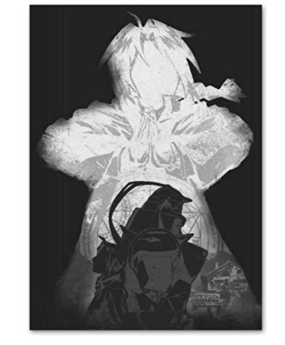 H/T Moda Simple Princesa Mononoke Anime Pintura Al Óleo Paisaje DIY Retro Abstracto Hogar Sala De Estar Decoración De La Barra Cartel De Arte Sin Marco 50X60Cm I1625