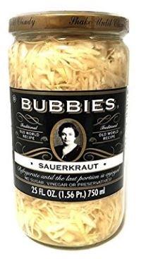 bubbies raw sauerkraut - 1