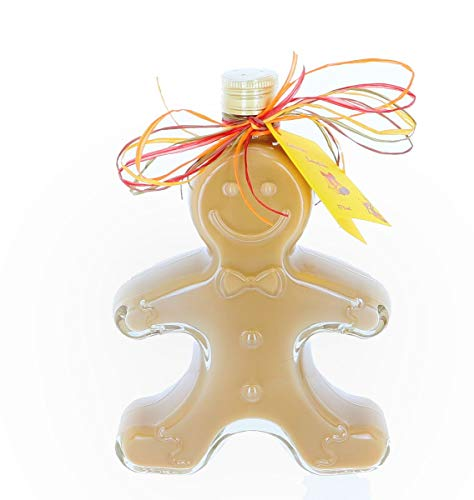 Lebkuchen-Sahnelikör, Weihnachtslikör 17% vol. Alk 250 ml als Geschenk zu Weihnachten, Advent