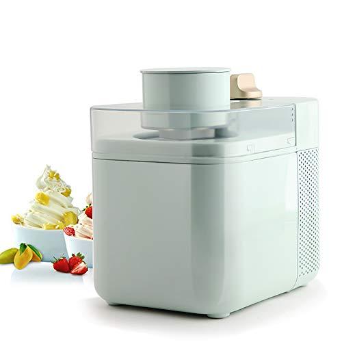 JIN GUI Keine Vorkühlung Mini-Eismaschinen, tragbare 220-V-Sorbet-Maschine 6H Kalt halten 2-Gang-Modus Leicht zerlegbar, sauber, für italienisches handgemachtes gefrorenes Dessert