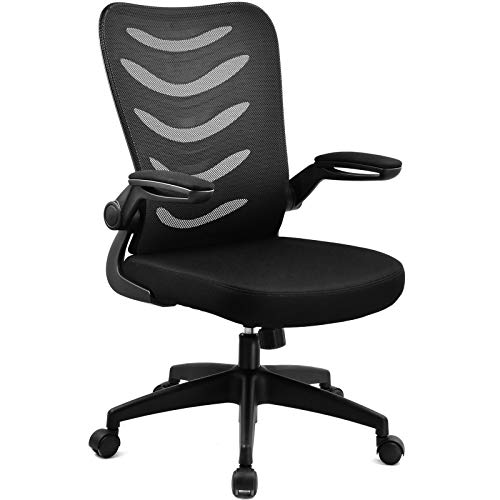 COMHOMA Office Desk Chair with Armrest Office Computer Chairs Ergonomic...
