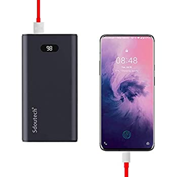 Mopoer 20000mAh Large Capacity Output Power up to 22.5W SCP Super Fast Charging Power Bank for Huawei Phones Support QC3.0 Fast Charging Protocol
