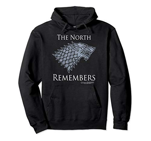 Game Of Thrones House Stark The North Remembers Pullover Hoodie