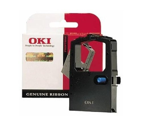 Oki Ribbon Black for Microline ML182/280/3320/3321–Signs (schwarz-Band, 3000000Zeichen, Microline ML182/280/3320/3321, 41g, 89x 25x 72mm) Nicht