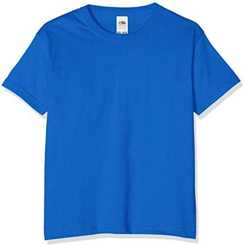 Fruit of the Loom Camiseta para Niños Valueweight