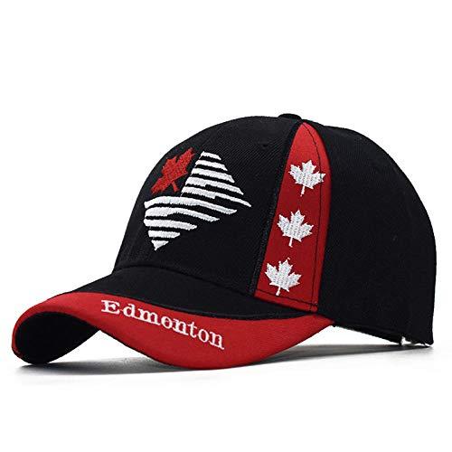 PPSTYLE Gorras Canada Flag Men Angeln Baseball Cap of Canada Hat Herren Snapback Bone Verstellbarer Wonmen Baseball Hat Snapback Hat-1