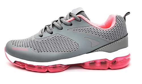 Zapatillas Deportivas para Mujer con Camara de Aire Muy Transpirables de Malla