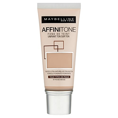 Maybelline New York Affinitone - Fond de teint liquide - 17 rose beige