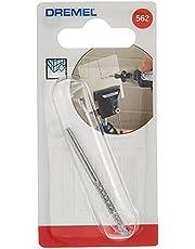 Dremel 2615056232 Broca de corte espiral para baldosas, Acero Inoxidable, 3.2mm / 20 mm