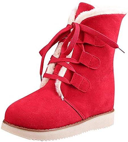 innovative design 294cc eef84 Stiefel Damen Schuhe ZHRUI Freizeitschuhe EU) 40 Größe Rot ...