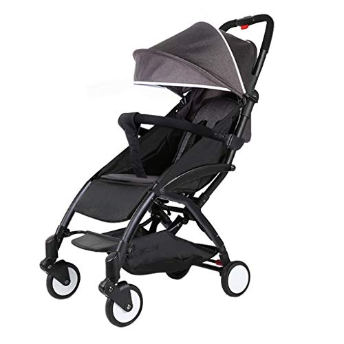 Fantastic Deal! Strollers Light Weight Stroller Can Sit and Lie 175 Degrees Folding Umbrella Car Str...