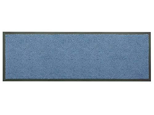 Primaflor - Ideen in Textil Küchenläufer Küchenvorleger Schmutzfangmatte Dancer - Blau, 60 x 180 cm, Küchenteppich Schmutzfangläufer