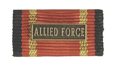 Weitere... Bande Boucle Utilisation à l'étranger Allied Force