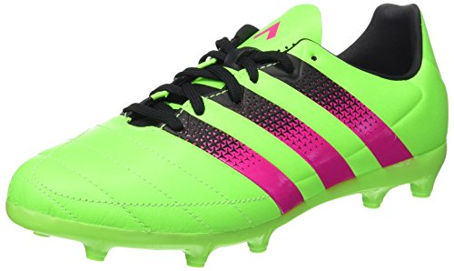 adidas Ace 16.3 FG/AG J Leather, Scarpe da Calcio Bambini Multicolore
