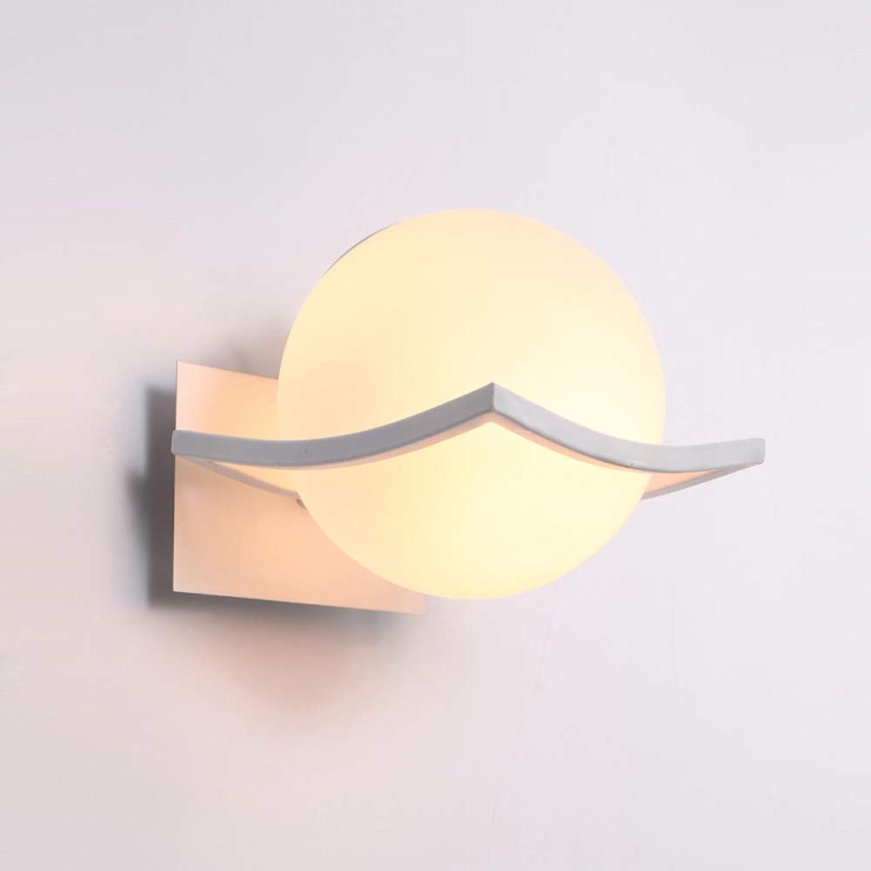 Moderne Einfachheit LED Wandleuchte, Hotelzimmerbeleuchtung (warmes Licht)